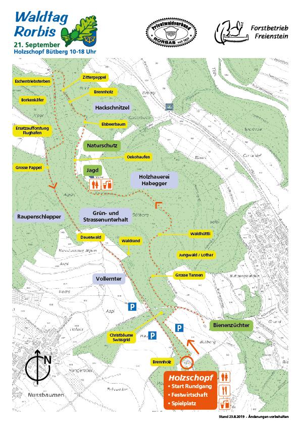 Waldtag Rorbis 2019 Plan 23072019